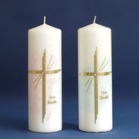 Tischkerze Kreuz (64)-0