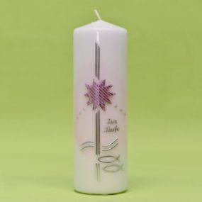 Kerze mit Stern und 2 Fischen 220/70-0