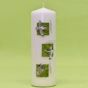 Kerze mit 3 Motiven 220/70-0