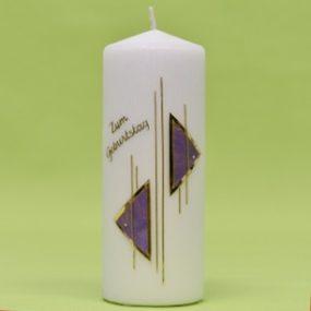 Kerze 2 Dreiecke 180/70-0